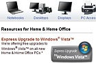 Buying a PC before Vista? Look for an Express Upgrade logo.