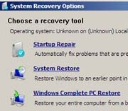 Vista Recovery Disc