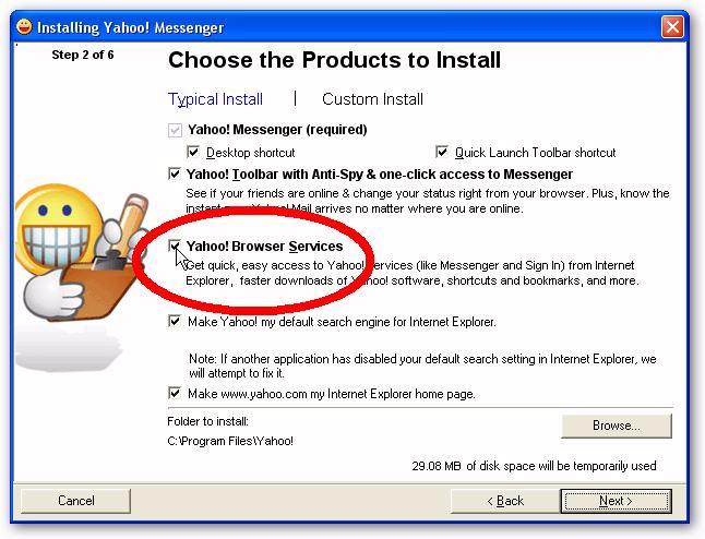 yahoo messenger download old version 2008 free