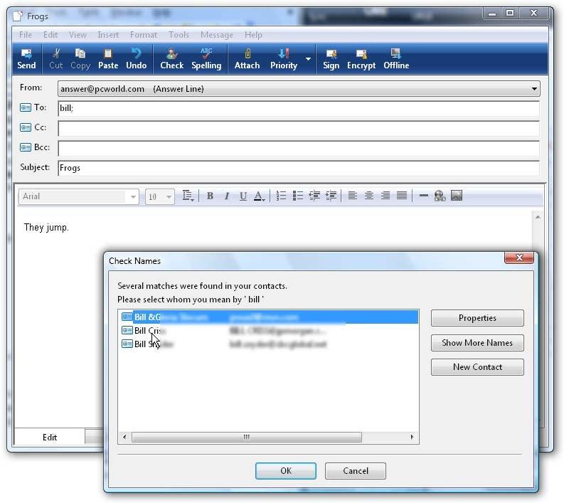 win 7 how to repair outlook program in control panel