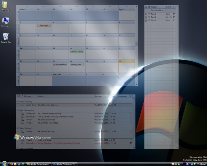 how to add outlook to desktop