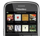Slacker Portable Radio on BlackBerry