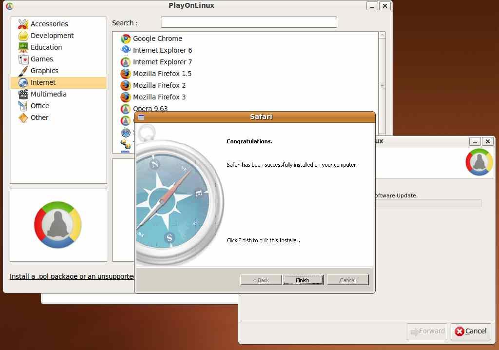 Installing Safari on Linux