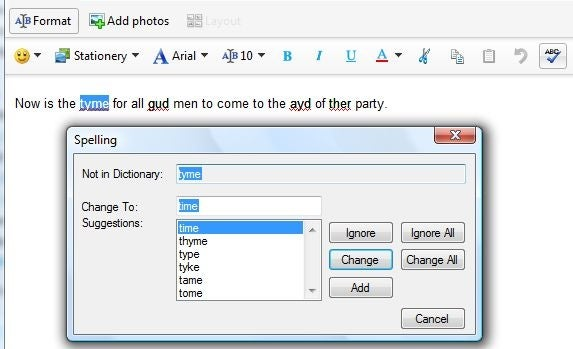 AutoSpell Spell Checker (free version) download for PC
