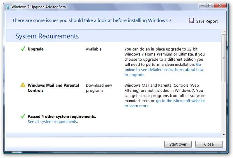 windows 7 upgrade free