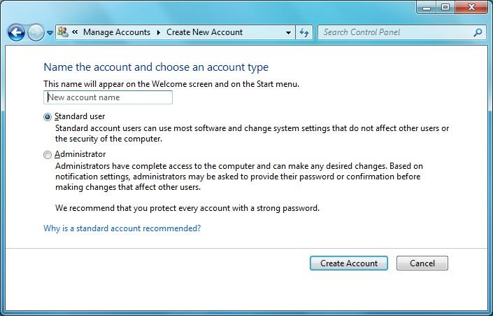 access administrator account windows 7