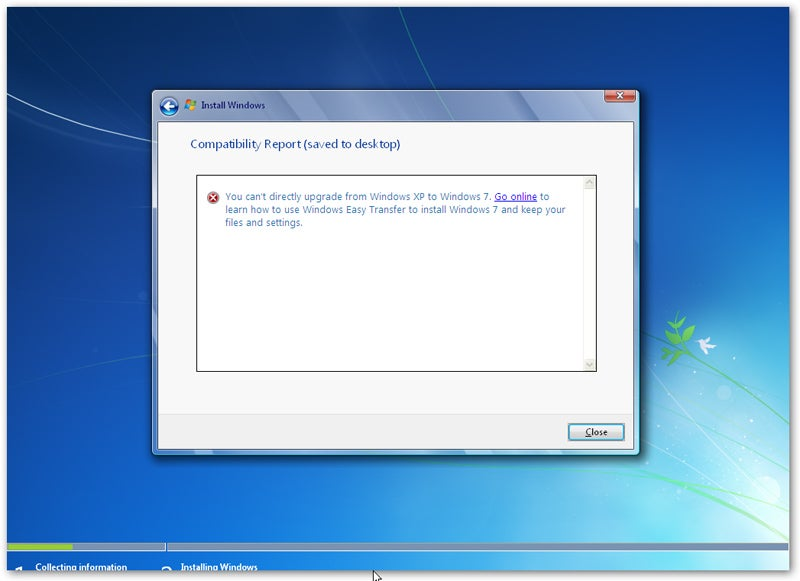 how to install xp to windows 7