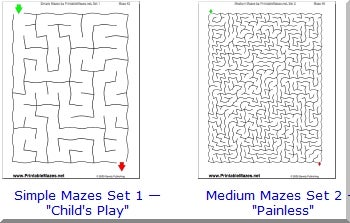 Download And Print Free Mazes For The Kids Pcworld