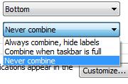 Taskbar fix