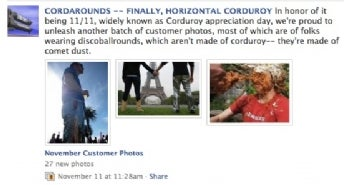 Cordarounds on Facebook