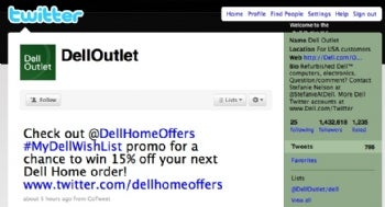 Dell Outlet on Twitter