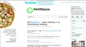 Naked Pizza on Twitter