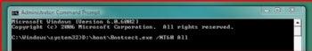 Stopping the reboot loop