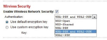 WPA2 security