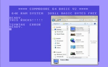 Commodore 64 Theme for Windows 7.