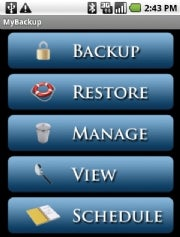 MyBackup Pro; click for full-size image.