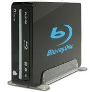 Plextor PX-B310U external Blu-ray drive.