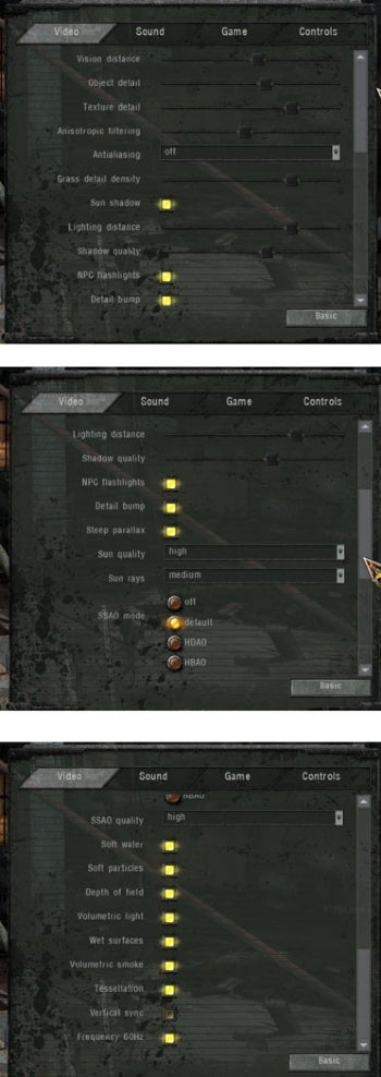 Call of Pripyat offers a ton of graphics settings, but which to enable?
