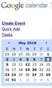 Google Calendar via SMS
