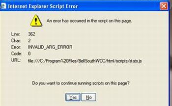 Solve Internet Explorer Script Errors | PCWorld