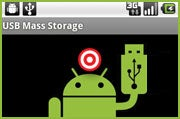 Android phone USB storage mode