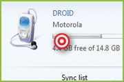 Sync an Android phone with Windows Media Player