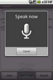 Android Voice Text