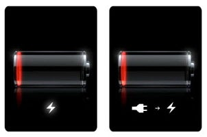 iPhone while charging