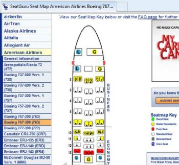 Seat Guru can map amenities on your flight.