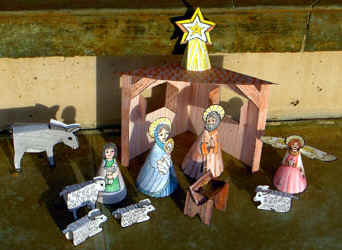 How To Make Holiday Nativity Scenes With Your Printer