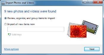 импорт изображений и видео что это - фото 3