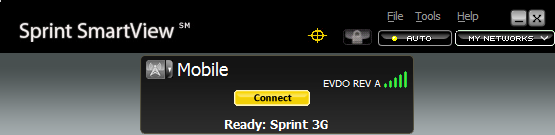 Just because you have full reception doesn't mean you'll get great speeds.