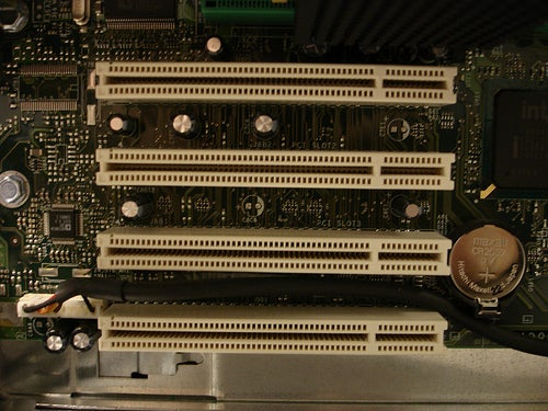 A sample shot of some PCI slots. (Courtesy of Flickr user Travelin' Librarian.)