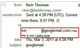 Gmail users can also use an @google-mail.com address.