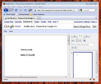 Google Docs Viewer lets you view all kinds of files online.