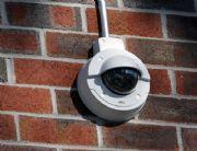 Cameras from companies such as Axis are weatherproof and tamperproof, and they work day and night.