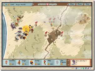 Pirates Love Daisies is a classic tower defense game that demonstrates the capabilities of HTML5.