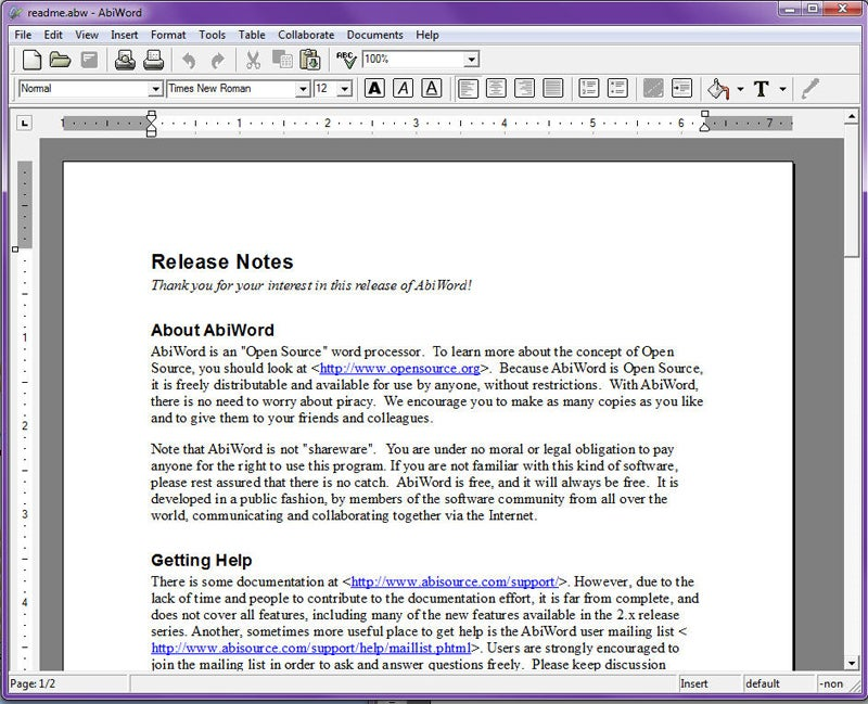 Microsoft Word Alternatives Wordsmiths Rejoice Pcworld