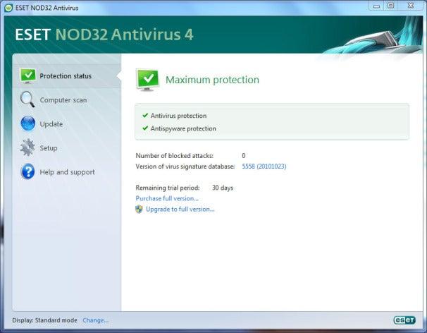 Eset nod32 antivirus 4 обновление бесплатно