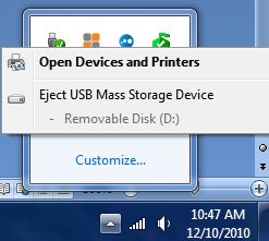 How to 'Safely Remove' devices