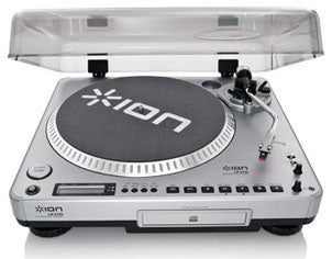 Ion Lp 2 Cd Is A Turntable With Usb Connections For Og To Digital Audio Conversion The Unit Subsequently Transfers Digitized Recordings Your Pc Via
