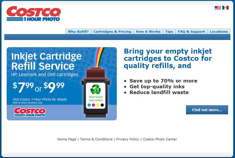 Costco Ink Refills: Superlow Price, So-So Quality | PCWorld