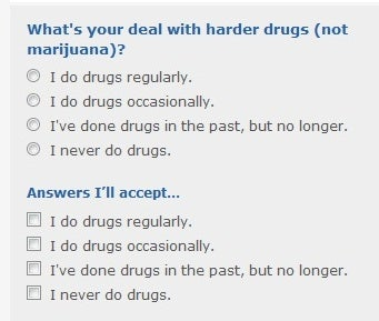 Good answers to dating site questions