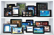 The combined army of iPad rivals may beat it overall, but none of them can compete individually with the Apple tablet.