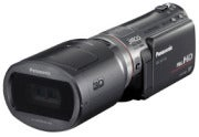 Panasonic HDC-SDT750 camcorder with 3D lens