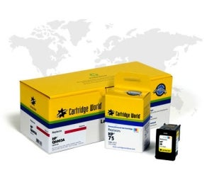 Cartridge World remanufactured printer ink cartridges