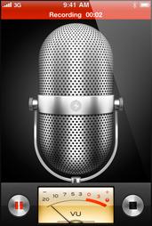 iPhone Voice Memo