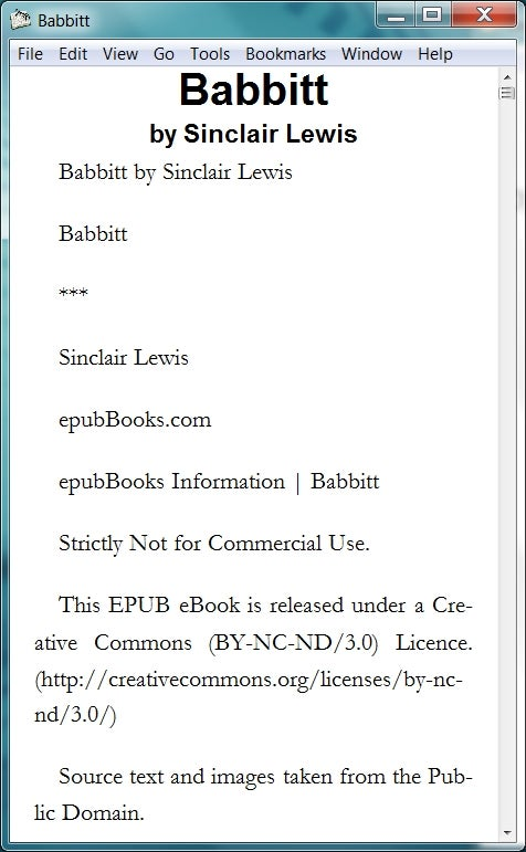 Read E-Books on Your PC Desktop With Stanza | PCWorld