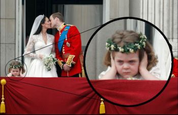 Royal Wedding Flower Girl