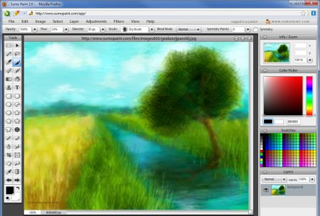 Paint Images Online on Ilidio   Sumo Paint   Online Image Editor And Drawing Application